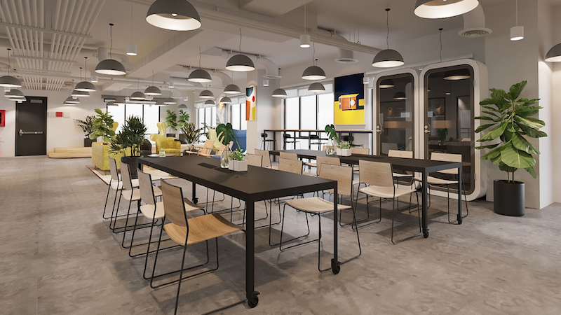 Private office District 1 work styles